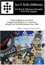 KellyBadge Militaria Master Catalogue cover image